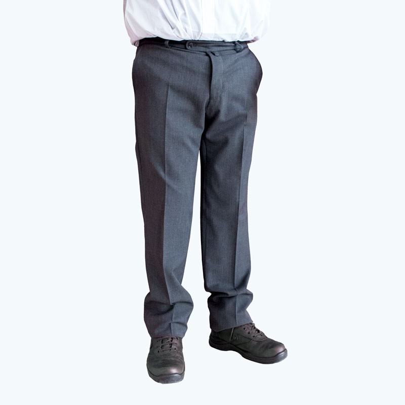 Pantalon Gris (qualité, lavable machine)