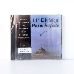 CD de chants parachutistes...
